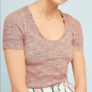 Anthropologie Moth brand sweater knit top